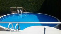 Above Ground Swimming Pool - Used (3 Years Old)