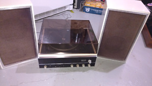 Dual 1210 Turntable Noresco AM FM Stereo