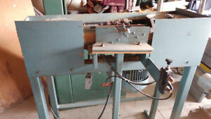 Used Sander - Edge/Stroke - Belt Grinder - Custom - REF# 1743BM