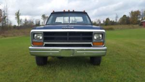 1986 NO E-TEST NEEDED Dodge POWER RAM 4x4  4spd-standard