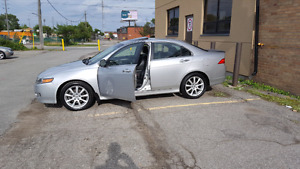 2006 ACURA TSX 163KM FULLY LOADED MANUEL SAFETY AND E TEST 7500$