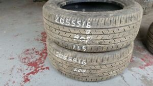 Pair of 2 Continental ContiProContact SSR (run-flat) 205/55R16 t