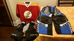 Inline Hockey Youth Medium Equipment