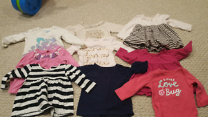 6 to 12 month long sleeve shirts