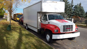 Cube Truck (26ft Cube Van) - GMC C-6500 - FOR SALE