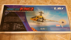 Esky Honey Bee King 2 with upgrades/extras