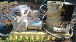 6W Pool Heater, Pump & FIlter