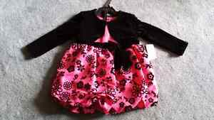 Brand new dress, bloomers & jacket 24 months