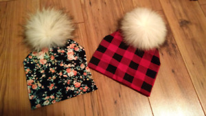 NEUF! Tuques MPOMPON 15$ chaque