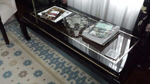 coffee table (glass)