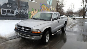 Dodge Dakota 2004, 4X4 - Prix ferme 2 400$