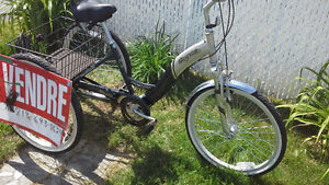 Bicycle 3 roues pour adulte a vendre