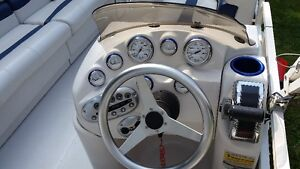 Starcraft Deck Boat - 16' with 115 Mercury Outboard and trailer