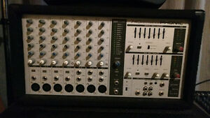 Phonic Powerpod 740 Deluxe 7 Channel Powered Mixer PA. 440 Watts