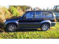 Hyundai Terracan 2.9 Breaking spares axle gearbox etc