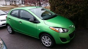 2011 Mazda 2 (ONLY 7100km)  MINT!  LIKE NEW