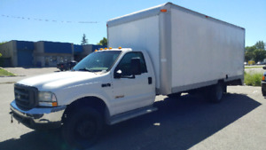 2003 Ford F450 Cube Fourgon