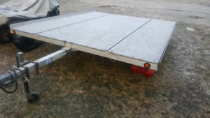 Trade:Mission Tilt Sled Trailer
