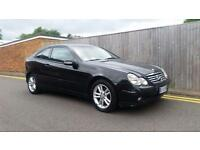Mercedes-Benz C220 CDI COUPE LHD LEFT HAND DRIVE 2.2 2dr ITALIAN REGISTERED