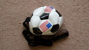 Soccer ball on a theather