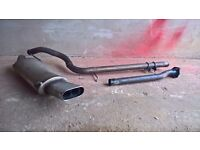 VR6 MK3 Golf Supersprint Exhaust inc Decat