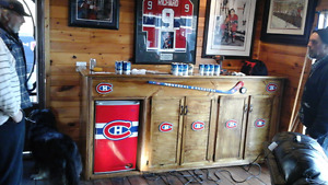 Solid wood habs pub bar sold ready 4 new project