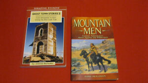 2 Books. Mountain Men and Ghost Town Stories 2.