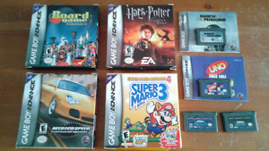 Gameboy Advance SP games