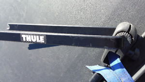 Thule roof bike rack with wheel rack
