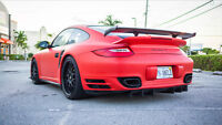 Matte Satin Red Vinyl / Wrap your car or parts / LOWEST PRICE