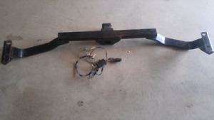 SUV hitch with brake kit