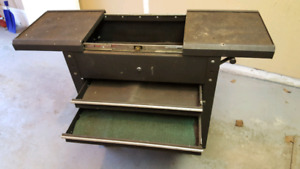 2 drawer tool cart