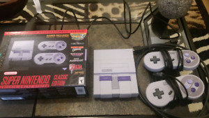 Super Nintendo Classic Edition-Used a had full of times