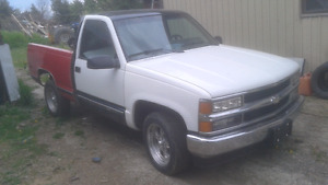 1988 Chevy short box 2wd project