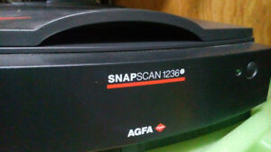 AGFA Snapscan 1236S Photo Scanner w / Adaptec  1505 SCSI card
