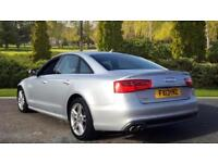 2013 Audi A6 2.0 TDI S Line Multitronic Automatic Diesel Saloon