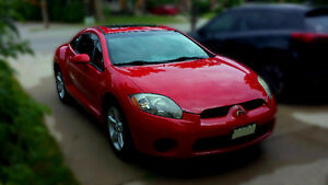 2006 Mitsubishi Eclipse GS Coupe (2 door) low km as is.