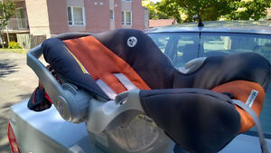 Car Seat for infants + Jolly Jumper with Portable Stand