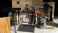 Blacksmith tools and equipment...Everything you need to start!