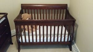 Brown Crib Set in great condition - OBO