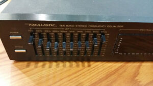 Realistic Ten Band Stereo Frequency Equalizer Windsor Region Ontario image 2