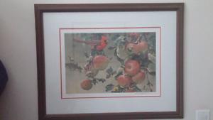 Cardinal and wild apples bateman