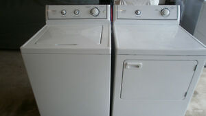Crosley king size washer and dryer