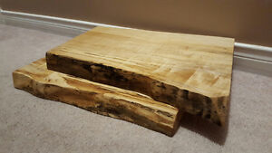 Custom Hardwood Cutting Boards - Live Edge London Ontario image 1