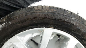 Mint tire and alloy rim from Nissan rogue