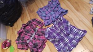 18-24m plaid shirts
