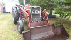 Massey Ferguson 265 with loader