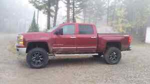 Lifted 2014 Chev Silverado 1500 c/w Ext. Warranty