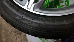 Winter tires and rims Kitchener / Waterloo Kitchener Area image 4