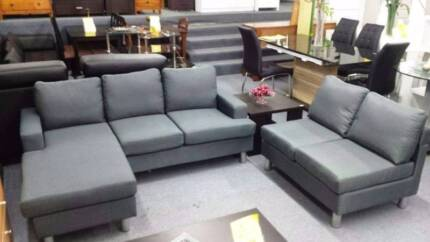 Direct from importer 3 seater reversible chaise Brand new $369